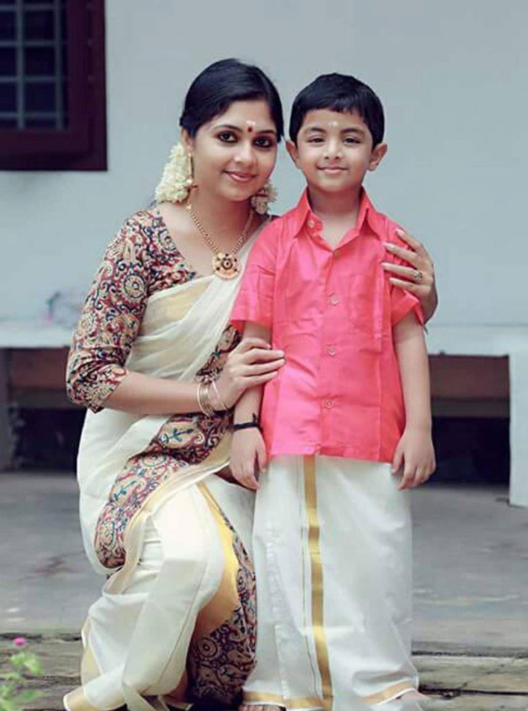 Ambili-Devi-With-son