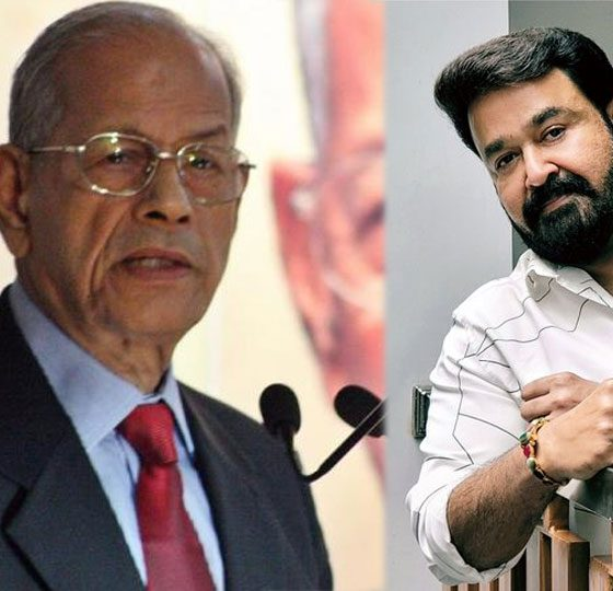E sreedharan wishes from Mohanlal