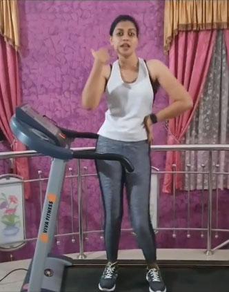 anusree-at-gym