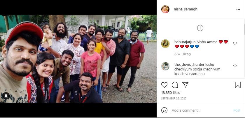 Nisha Sarang and Team