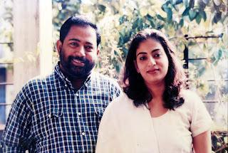 Sibi Malayil.wife
