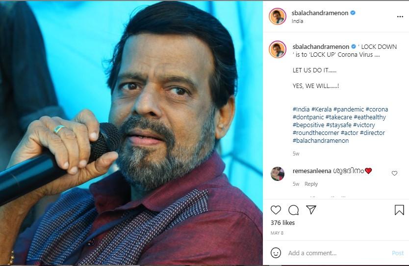 Balachandra Menon1